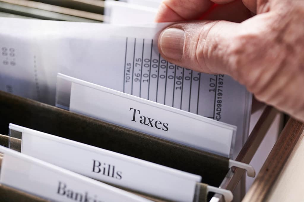tax records management